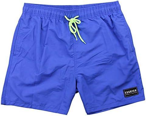 Mens SMITH AND JONES Swim Shorts Swimming Beach Palm Multi Pockets Mesh Trunks Q