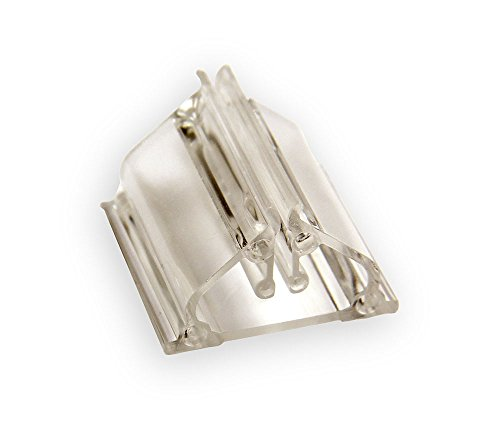 Spiel Pro 100 Plastic Game Card Stands - Clear 3/4