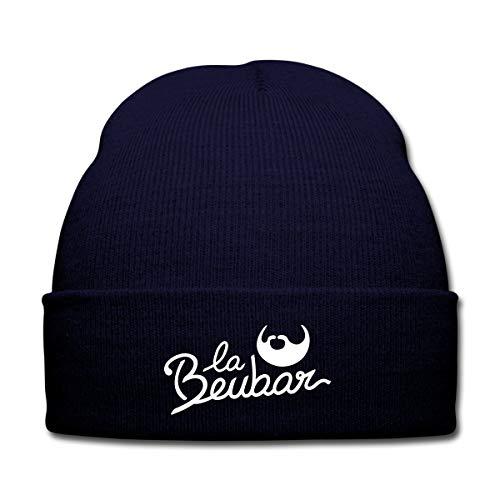 Spreadshirt La Beubar Bonnet d'hiver, Marine