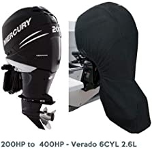 Oceansouth Mercury Verado Outboard Full Storage Cover 6cyl 2.6L 200HP-400HP 25