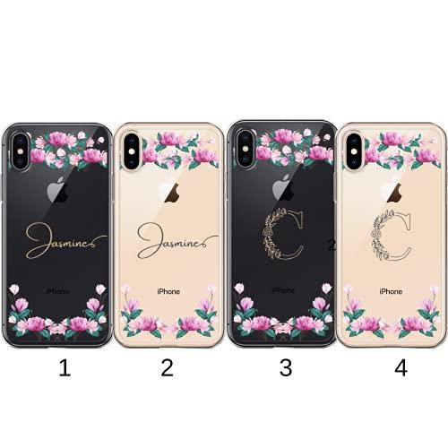 Fundas de Moda - Funda para Samsung Galaxy Serie J, Funda Personalizada Nombre Dibujo Flores de Verano, Funda Antigolpe (Samsung Galaxy J7 2016)