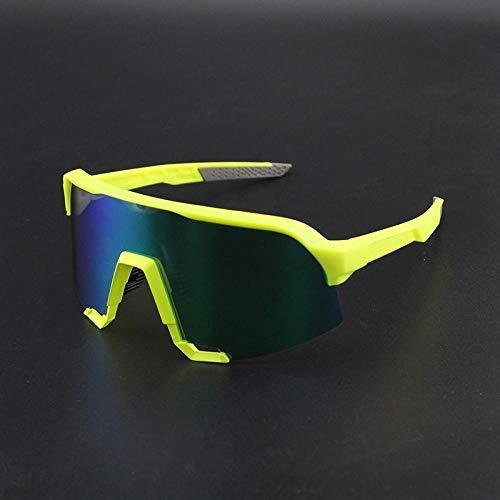 Gafas de Ciclismo Sunglasses Lente Polarizada Deportes Al Aire Libre Bicicleta Bicicleta Gafas De Sol Gafas MTB Ciclismo Gafas Gafas Peter Goggles Hombre S3-4