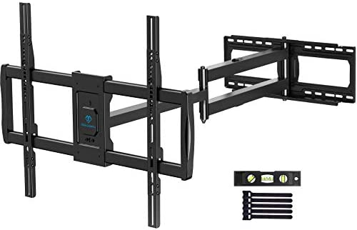 PERLESMITH Full Motion TV Wall Mount for 37 85 Inch LED LCD OLED TVs with 47 64 Inch Long Extension product image