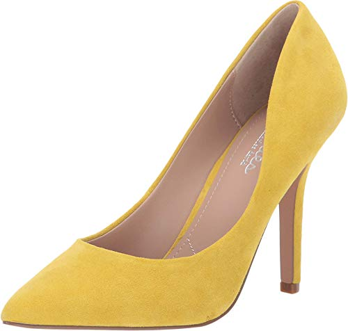 CHARLES BY CHARLES DAVID Maxx Canary Kid Suede 8.5