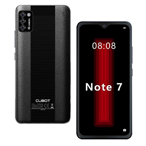 4G Mobile Phones SIM Free, CUBOT Note 7 Smartphone Unlocked, Android 10,...