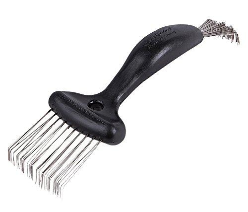 Olivia Garden The Brush Cleaner pulitore per spazzole Nero- Lo strumento facile e veloce per pulire e prolungare la vita dei vostri pennelli.
