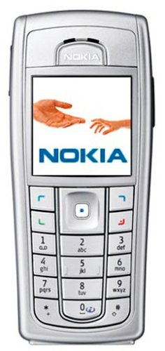 Microsoft -  Nokia 6230i Silber