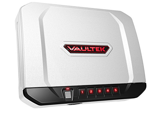 Vaultek VT20i Biometric Handgun Bluetooth Smart Safe Pistol...