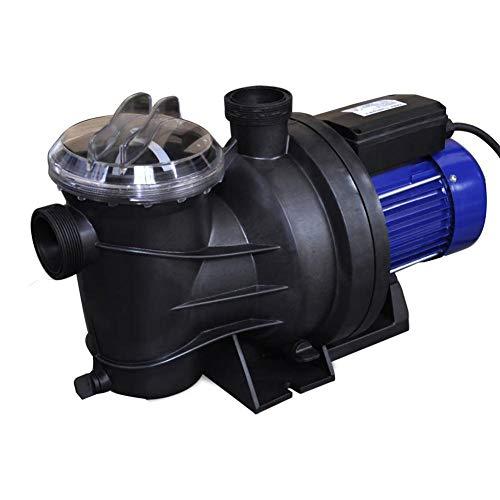 Bomba de Piscina,Bomba de Piscina Eléctrica 1200 W Azul,55 x 25 x 23,5 cm