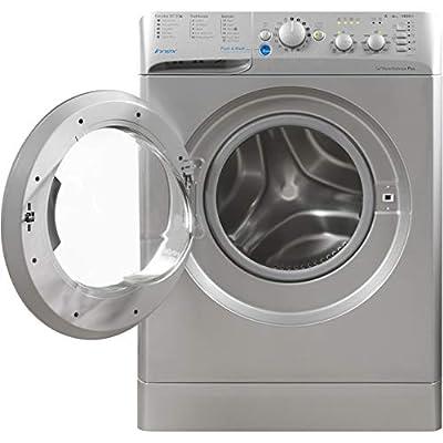 Indesit Innex BWC61452S A++ 6kg 1400 Spin 16 Programmes Washing Machine Silver