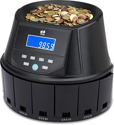 ZZap CS30 - Contador automático de monedas y clasificador de monedas