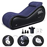 Lounger Air Sofa Inflatable Multifunctional Sofa - Portable Cushion Body Pillow Inflatable Furniture Lounger for Couples Position Love Enhancing Portable S'ex Cushions for Position Design-Ideal Couch