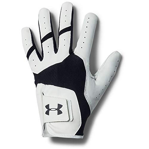 Under Armour Men's Iso-Chill Golf Gloves, Black, Size LML