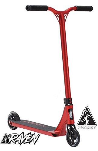 FASEN RAVEN COMPLETE SCOOTER – RED