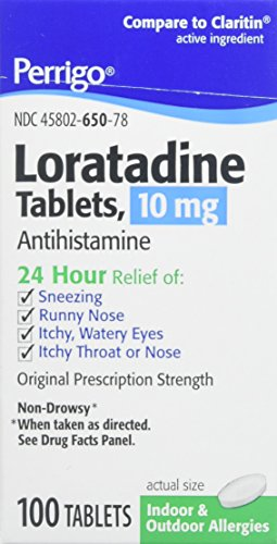 Allergy Relief , 24 Hour Allergy Relief , Loratadine 10mg Tab , 100 Tab