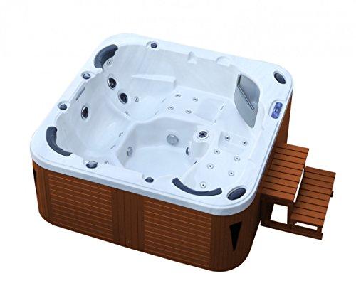 Trade-Line-Partner American Whirlpool Outdoor 215x215cm ! Außenwhirlpool 5 Personen