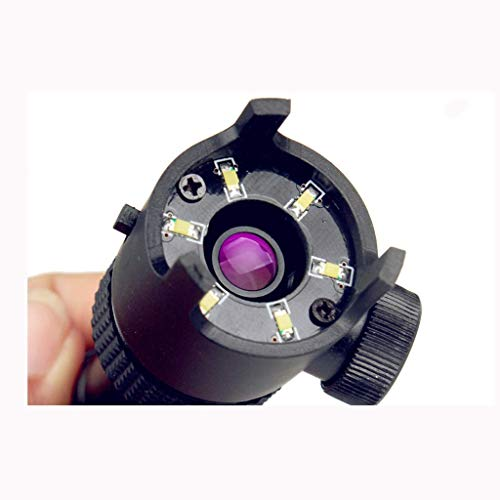 LJ Magnifier,Magnifying Glass Hd 50X Magnifying Glass with Lamp with Scale Led Reading Microscope Reading Aids