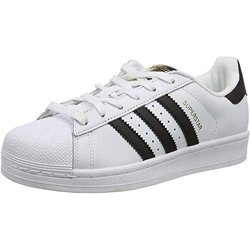 adidas Superstar, Scarpe da Ginnastica Unisex Adulto, Bianco (Ftwr White/Core Black/Ftwr White), 43 1/3 EU