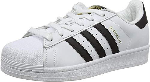 adidas Unisex-Erwachsene Superstar Low-Top, Weiß (Ftwr White/Core Black/Ftwr White), 41 1/3 EU