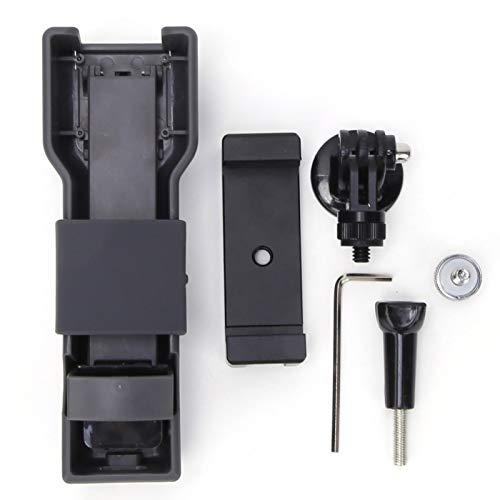 Beisha Estabilizador de Eje Z de Mano, Soporte estabilizador de Eje Z de Mano con Accesorio de Clip para teléfono para OSMO Pocket