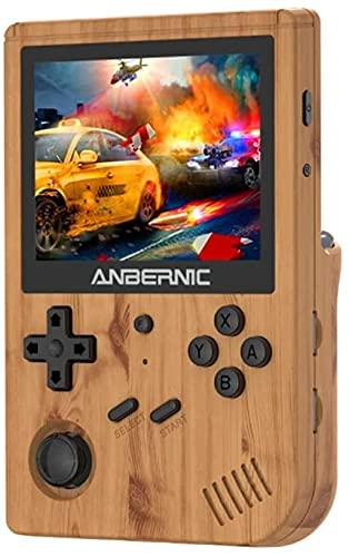 Anbernic RG351V Consola Retro Portatil con Wifi, Buena Retro Game Console 64GB...