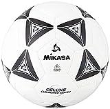 Mikasa Serious Soccer Ball (Black/White, Size 4)