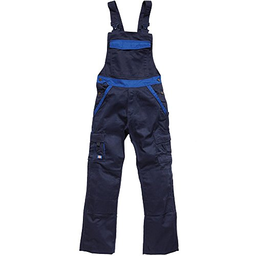 Dickies Latzhose Industry 300, Blau (navy / royal NRB), 52