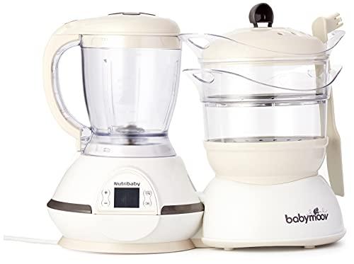 Babymoov procesador de alimentos para bebés Nutribaby classic, color crema
