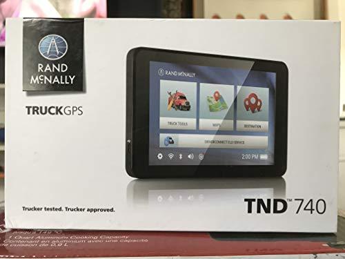"Rand McNally TND 740 IntelliRoute Truck Navigation GPS with 7"" HD Vibrant Display"