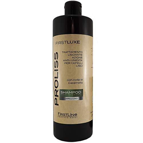 Champú con notas de caramelo PROLISS para cabello lacio 500ml línea profesional (Champu PROLISS, 1)