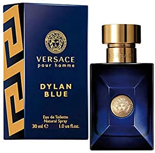 Dylan Blue Pour Homme by Versacė Eau de Toilette Spray For Men 1 Oz/ 30ml