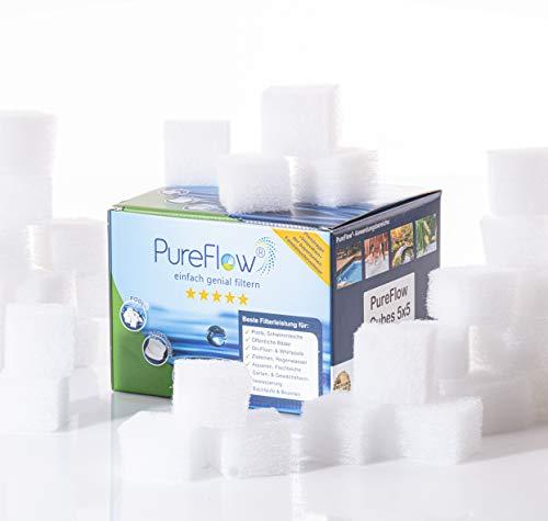 PureFlow 35 cubos en lugar de cartuchos de filtro para sistema de filtro de cartucho 1250; tipo Eco 604, 604g, 638g, 638r, 602 y 602 g.