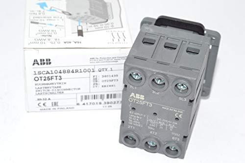 ABB, OT25FT3, Non-Fusible Disconnect, Door Mount, 3 Pole, 30 UL Amps