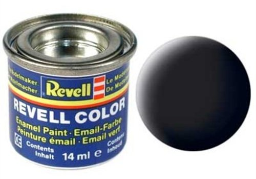 32108 - Revell - schwarz, mattRAL 9011 - 14ml-Dose