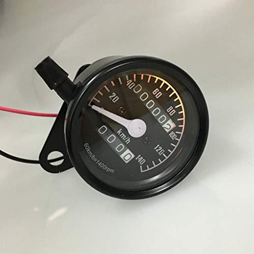 No-branded Odometer Spur Entfernungsmesser-Spur 12V Motorrad Dual-Entfernungsmesser-Messgerät Miles-Test Meter ZHQHYQHHX