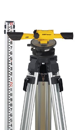CST/berger 54-190K Speed Line 20X Transit Level Package with Horizontal Circle, Tripod, Rod, and Carrying Case (Discontinued by Manufacturer)