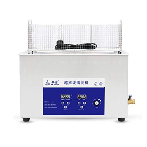 Máquina De Limpieza por Vibración Ultrasónica, 30L Industrial High-Power Hardware Mold Equipo De Limpieza De Laboratorio Dental, Instrumento De Limpieza De Piezas De Motor Industrial