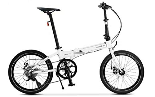 Dahon Launch D8 Folding Bike (White/Black)