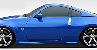 Extreme Dimensions Duraflex Replacement for 2003-2008 Nissan 350Z Z33 N-1 Side Skirts Rocker Panels - 2 Piece