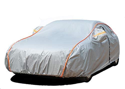 GAOY-CAR COVERS Housses pour AUT Angkesaila Berline M2 Berline Mazda 6 M3 Berline M3 Berline avec hayon arrière Protection Solaire Contre la Pluie (Couleur : Gray, Taille : Angkesaila Sedan)