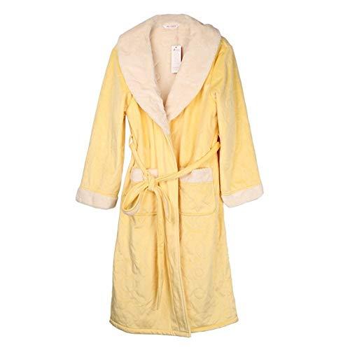 Eastery Winter pyjama vrouwelijk trainingspak met lange mouwen, traditionele lange badjas, warm, eenvoudige stijl, pyjama voor thuis