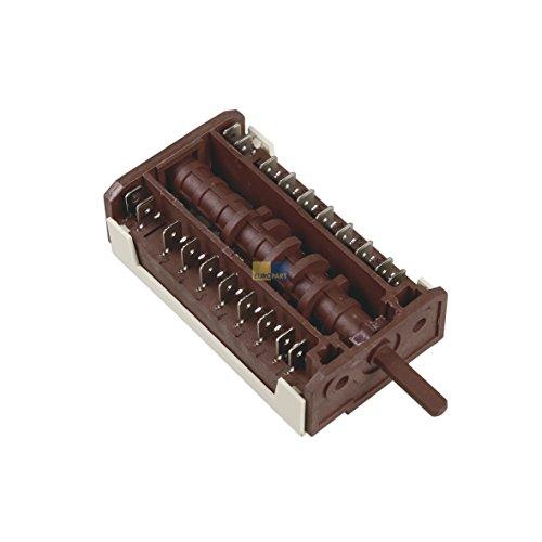 Electrolux AEG 357064601 3570646012 ORIGINAL Schalter Wahlschalter 20x6,3mmAMP 6+0 Backofen Herd Ofen auch Corbero ElektroHelios Rex Zanker Zanussi