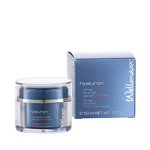 Wellmaxx hyaluron anti-age day & night absolute cream rich