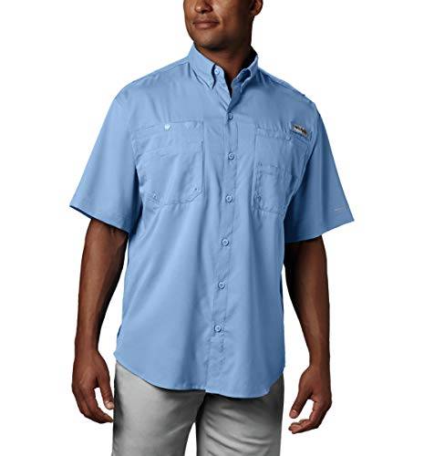 Columbia Men's Tamiami II Short Sleeve Shirt, Sail, XL Tall