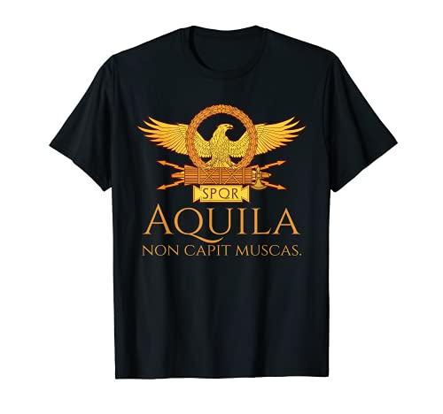 El águila romana antigua cita El águila no atrapa moscas Camiseta