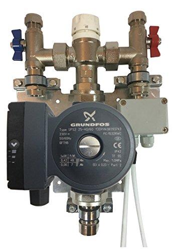 Een Nominale vloerverwarming Eenpersoonskamer Controle Thermostatische Pomp Blender Mixer