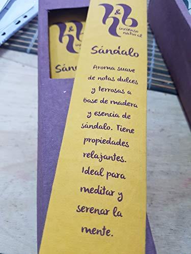 Qaromas Incienso Natural H&B Sándalo 15g