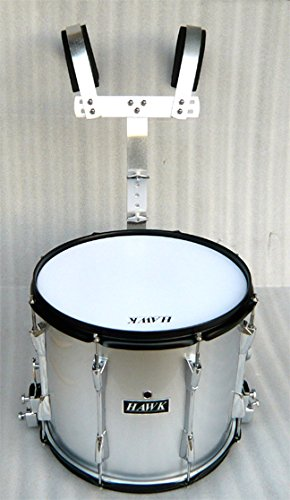 NEW SILVER COLOR MARCHING SNARE DRUM 14'x 11'