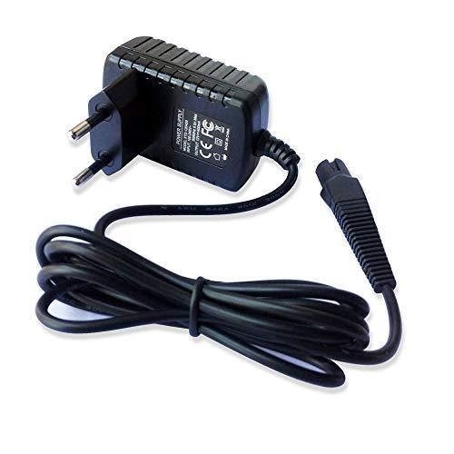 12 V 4,8 W Adapter Ladegerät kompatibel mit Braun Z20/30/50/1905/210 3020S, 3030S 320,330 5735,5736 Rasierer EU-Stecker