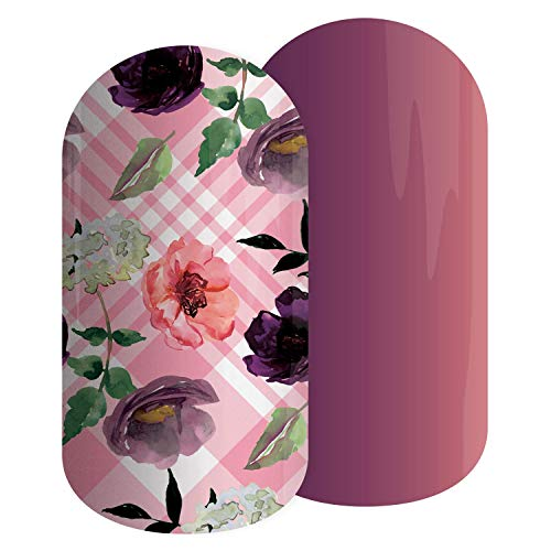 FLOWERS FOR HER - Jamberry Nail Lacquer Strips - Easy DIY Nail Art